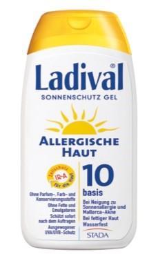 LADIVAL® allergische Haut Sonnenschutz Gel LSF 10
