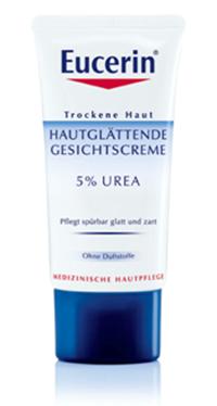Eucerin Hautglättende Gesichtscreme 5% Urea