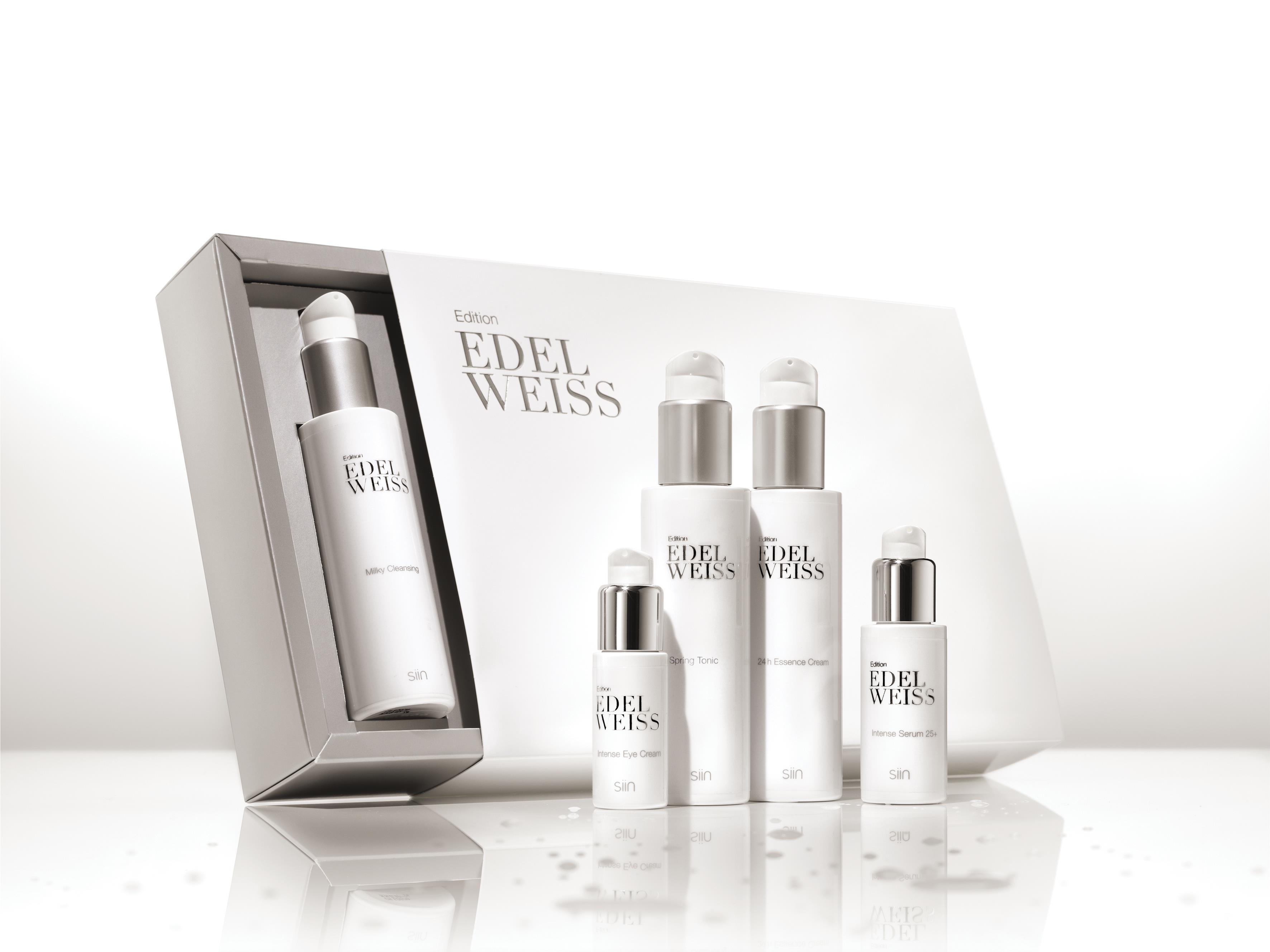 Edition Edelweiss Beauty Set complete 25+