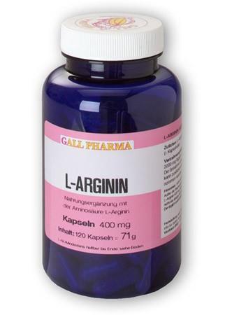 GPH L-Arginin 400mg Kapseln