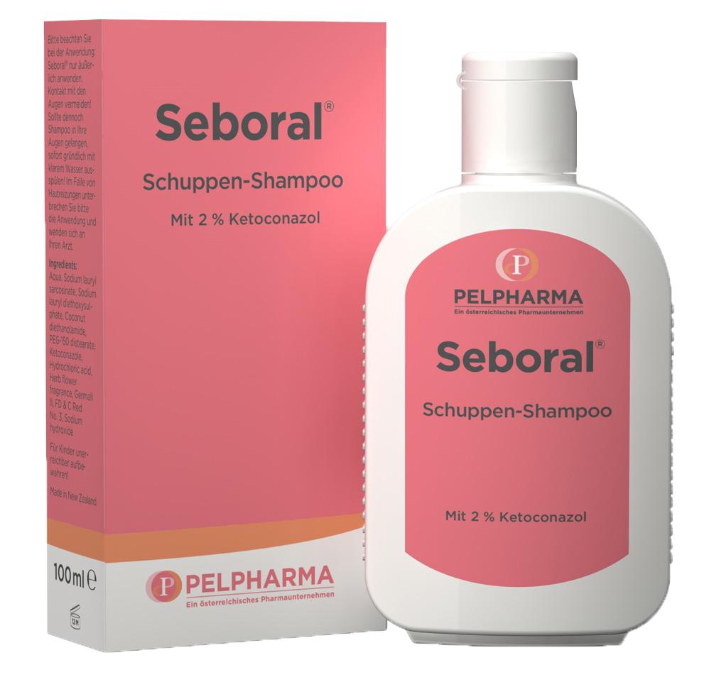 Seboral Schuppen-Shampoo mit 2% Ketoconazol