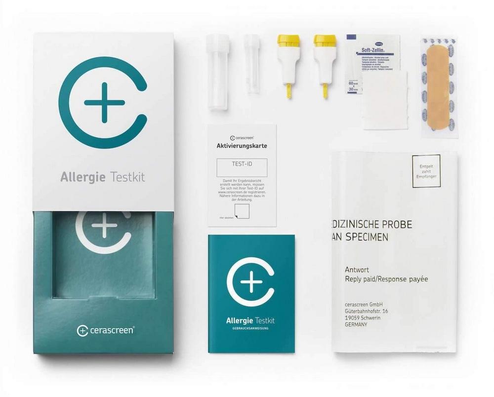 Cerascreen Milch+Ei Allergie Test