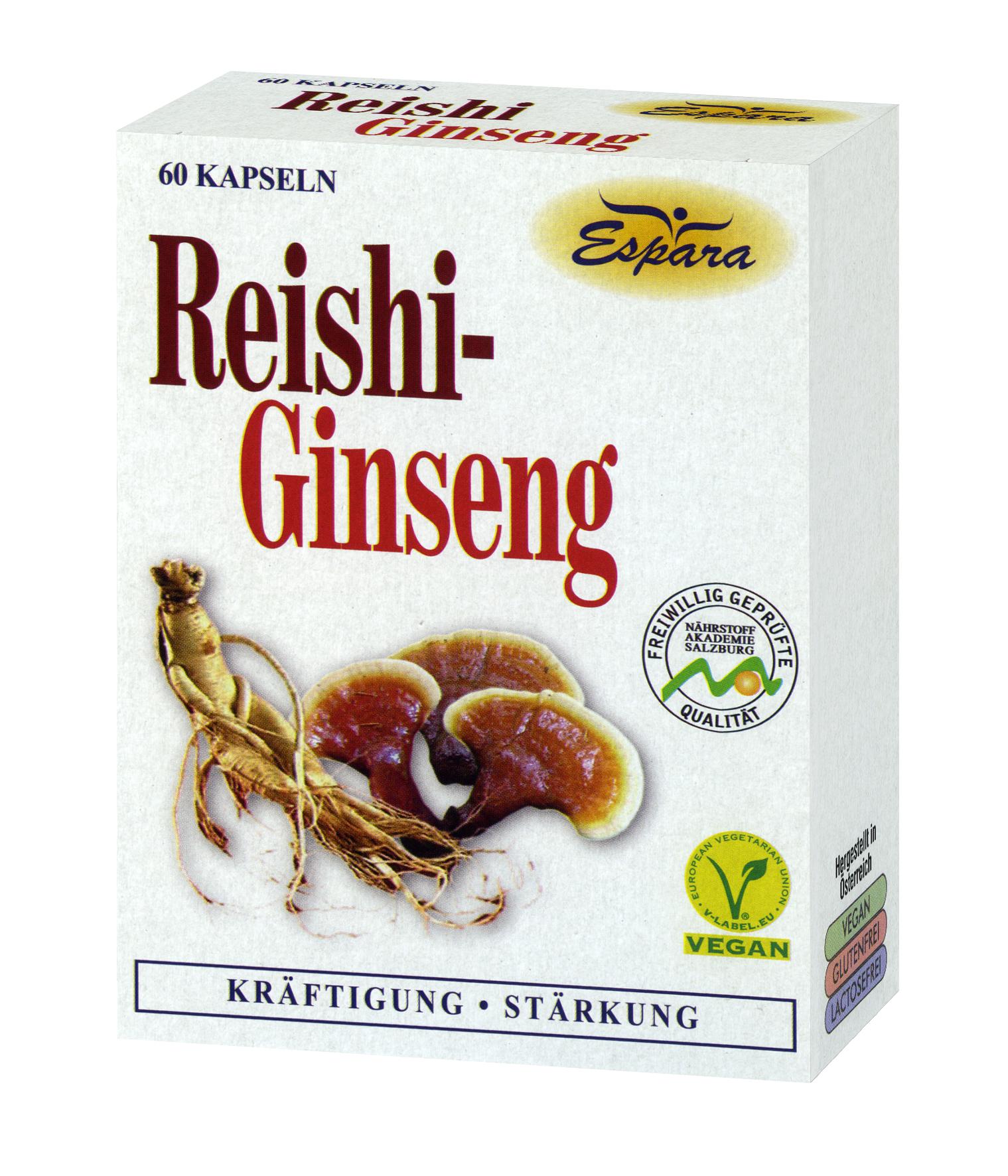 Espara Reishi-Ginseng Kapseln