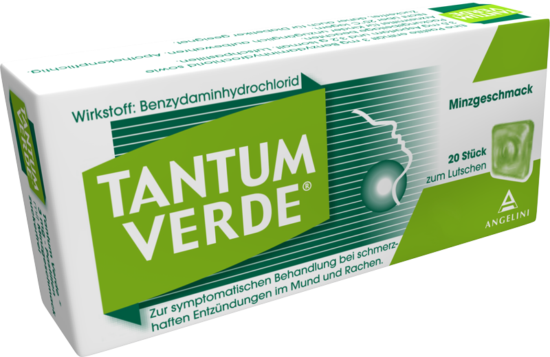 Tantum Verde® Pastillen Minze