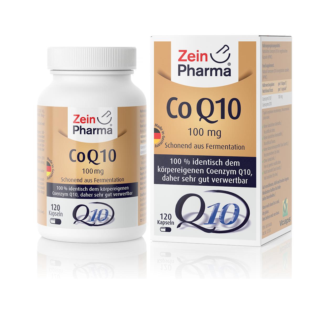 Zeinpharma Coenzym Q10 100 mg Kapseln