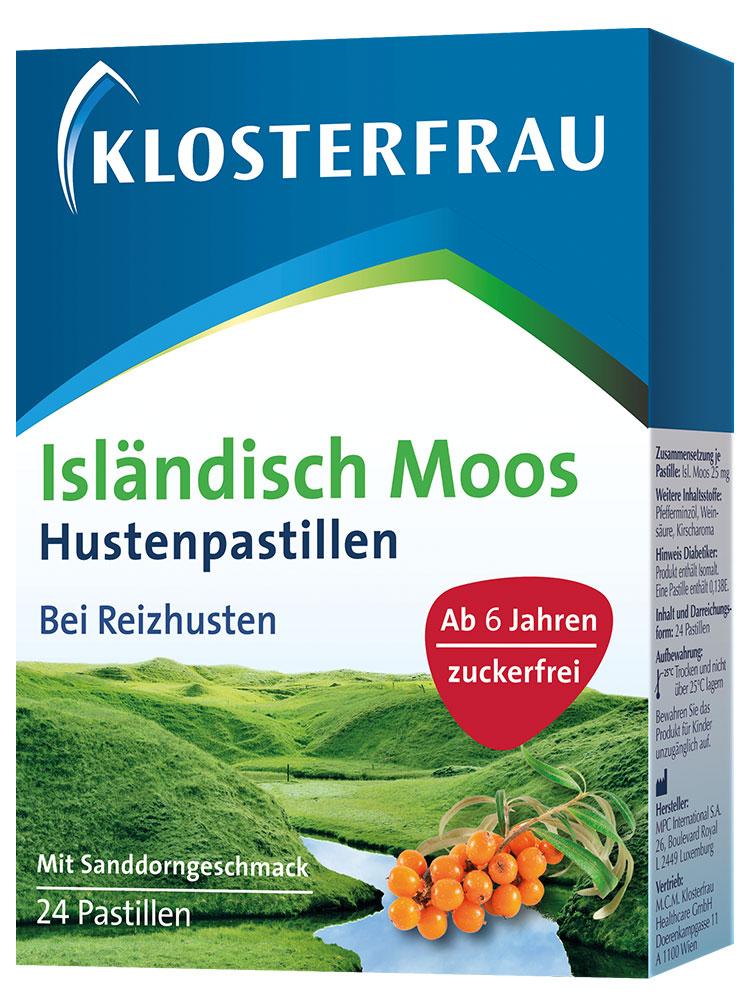 Klosterfrau Isländisch Moos Hustenpastillen