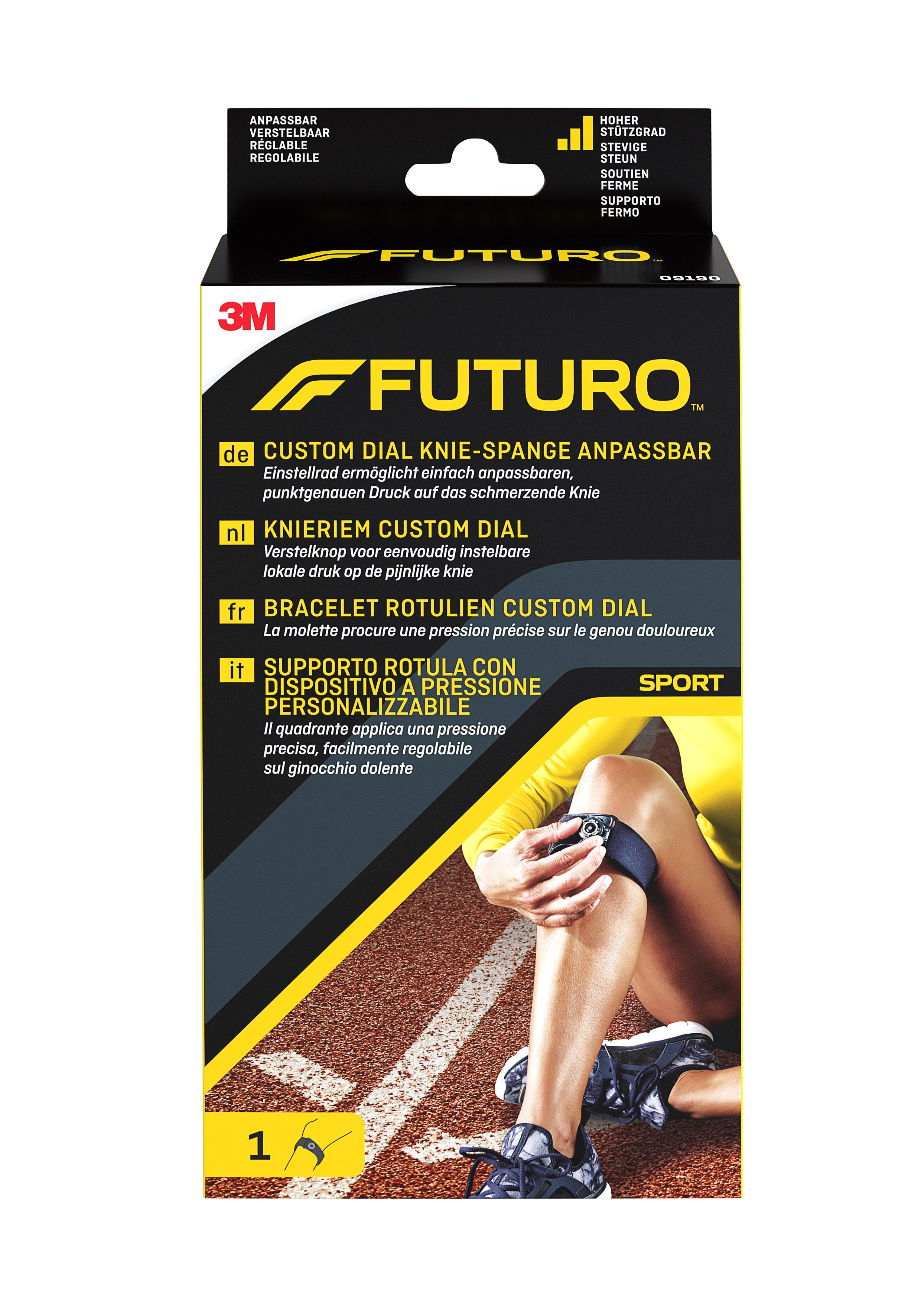 FUTURO™ Custom Dial Knie-Spange anpassbar