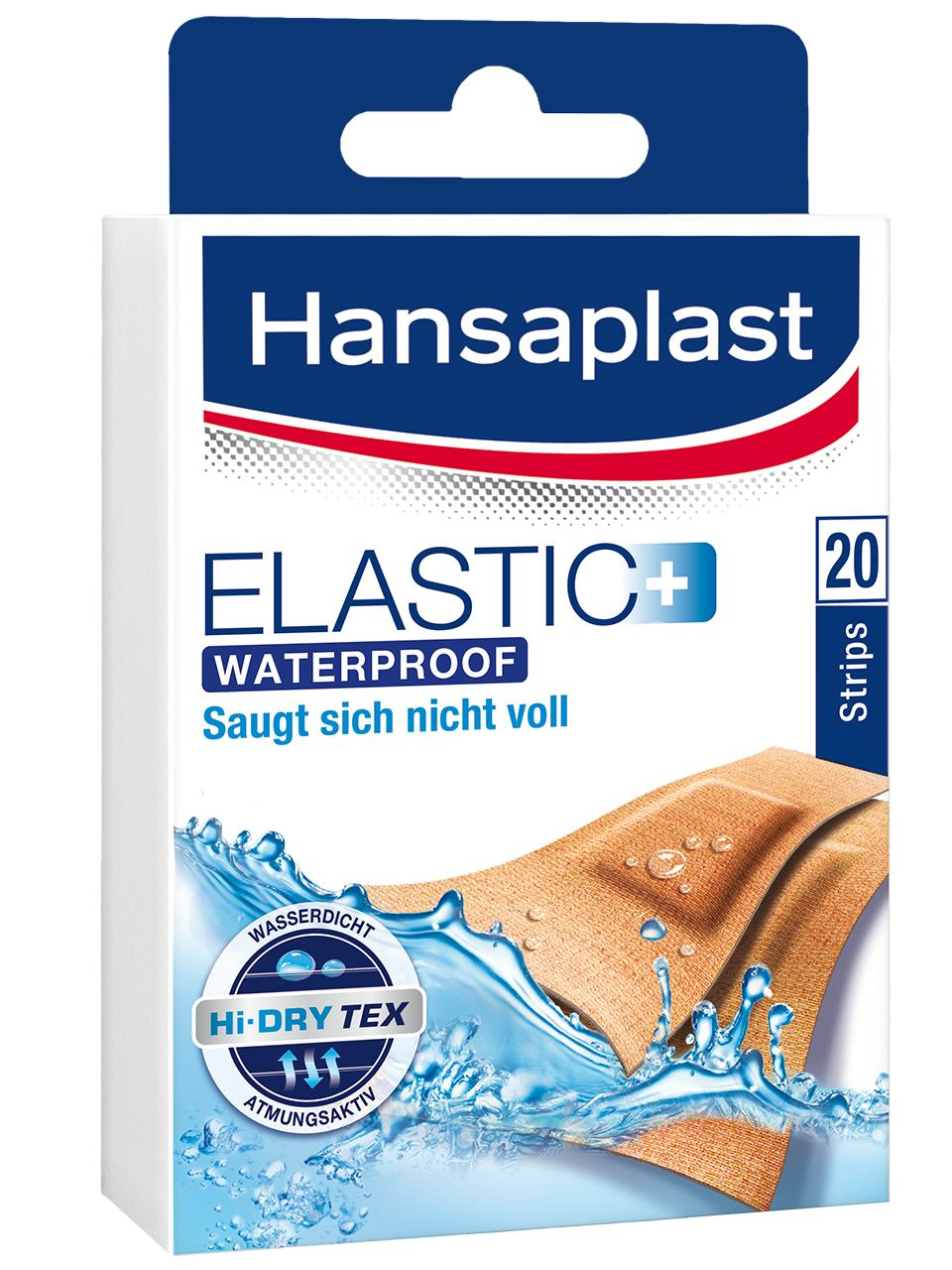 Hansaplast Elastic+ Waterproof Strips