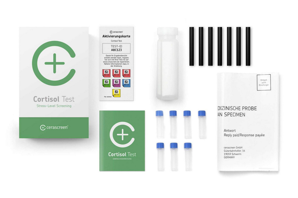 Cerascreen Cortisol Test