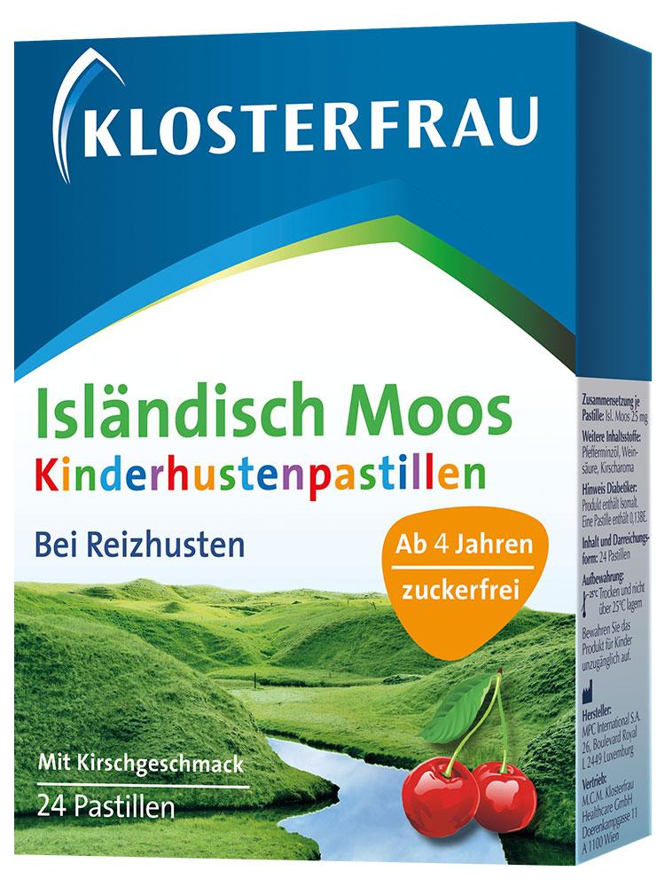 Klosterfrau Isländisch Moos Kinderhustenpastillen