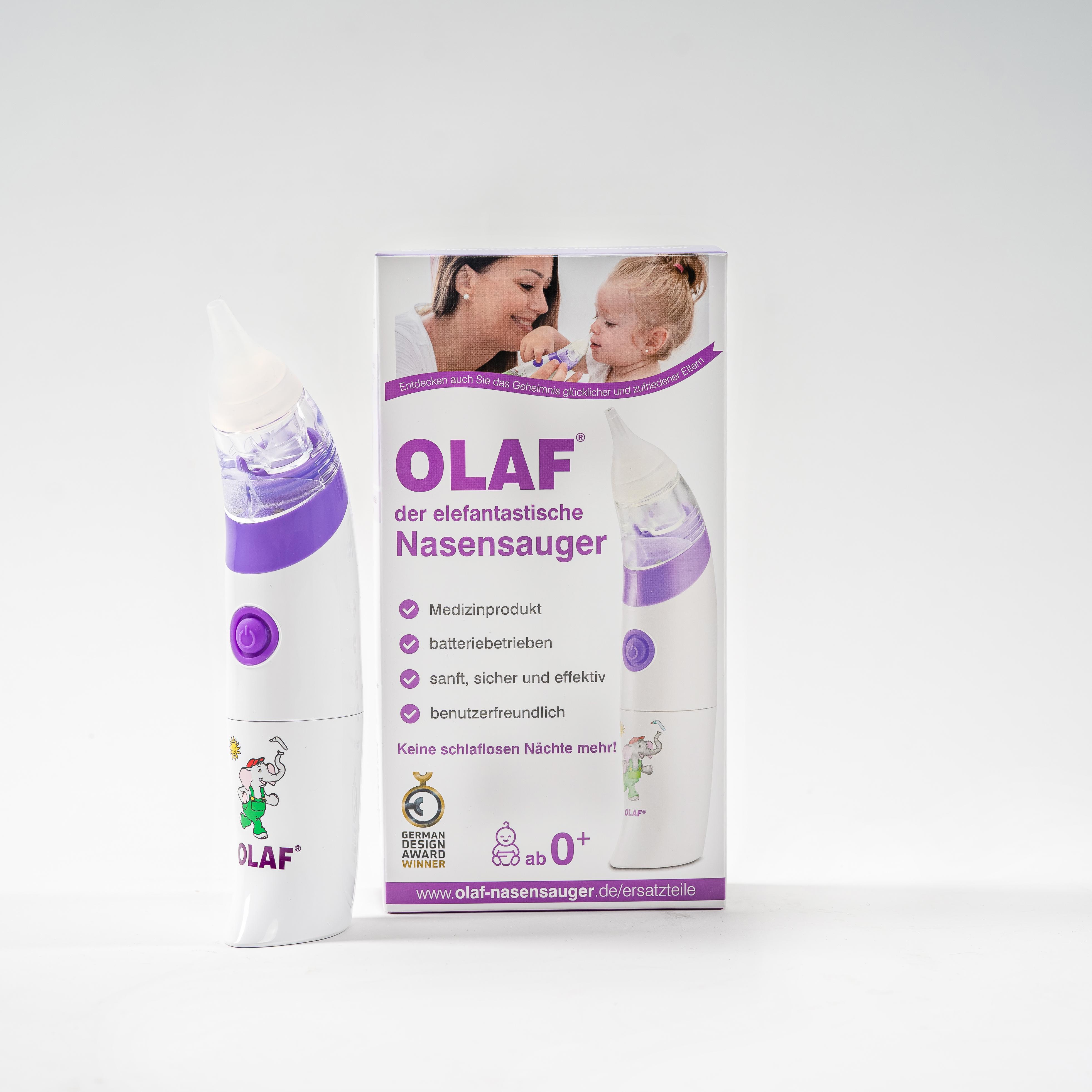 Olaf - der elektrische Nasensauger