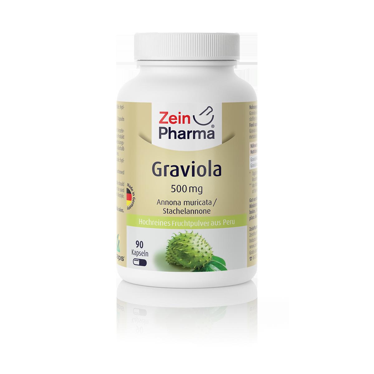 Zeinpharma Graviola 500 mg Kapseln