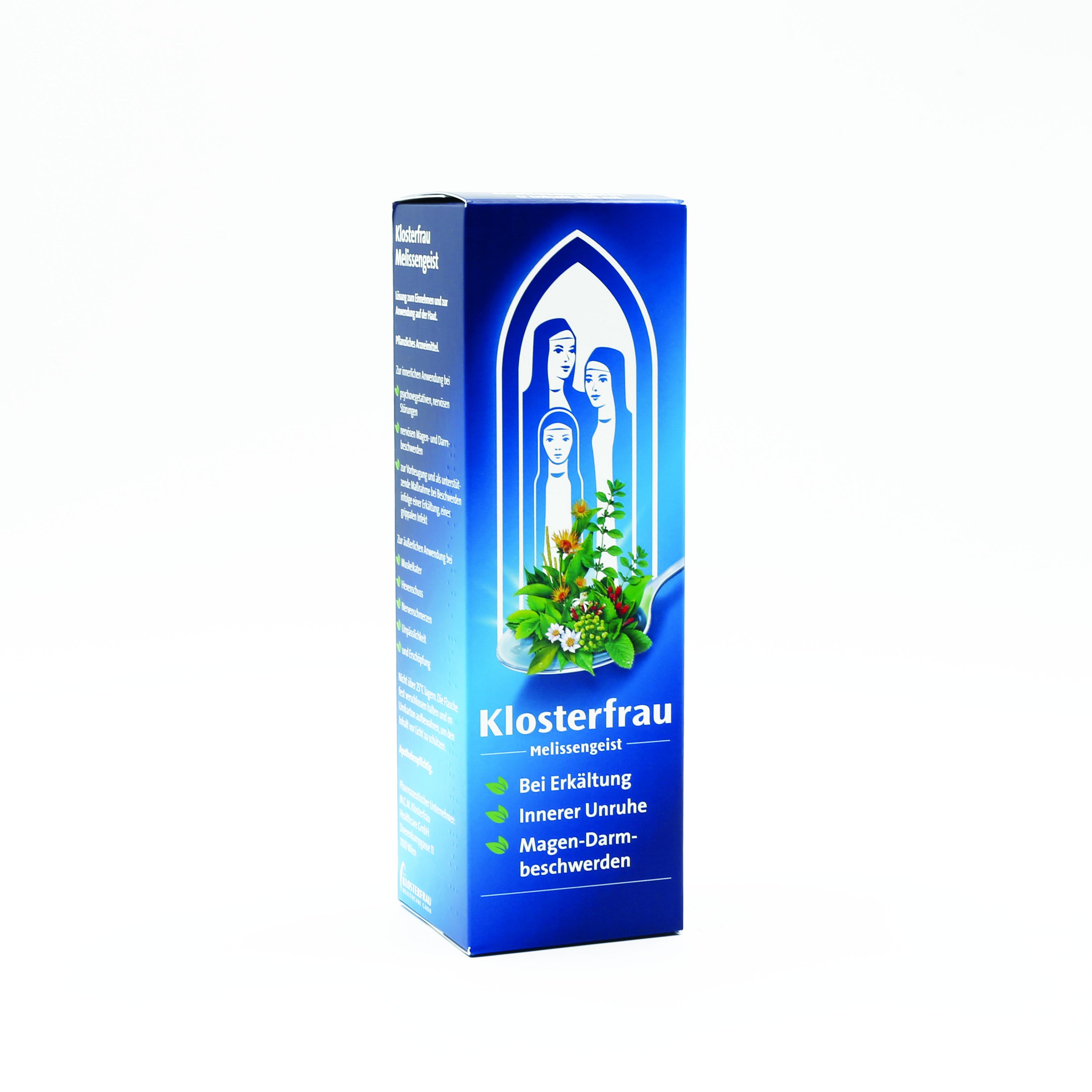 Klosterfrau Melissengeist - Flüssigkeit zum Einnehmen und zur Anwendung auf der Haut