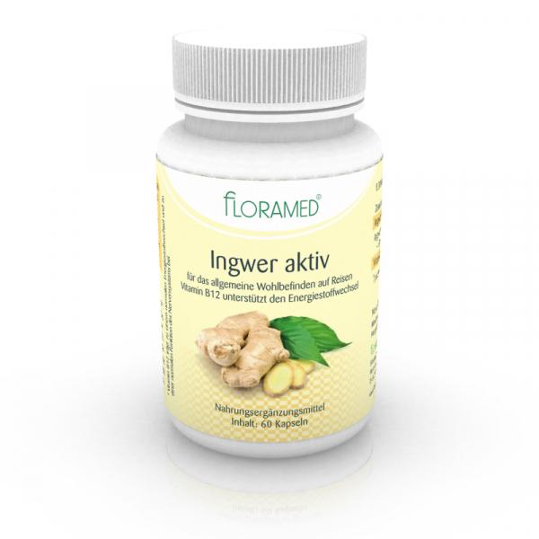 Floramed Ingwer aktiv