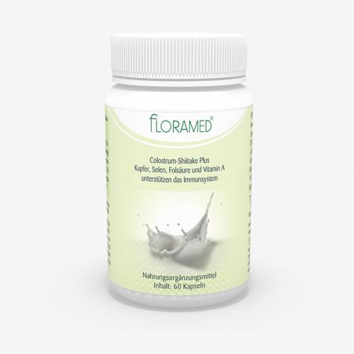 Floramed Colostrum-Shiitake Plus