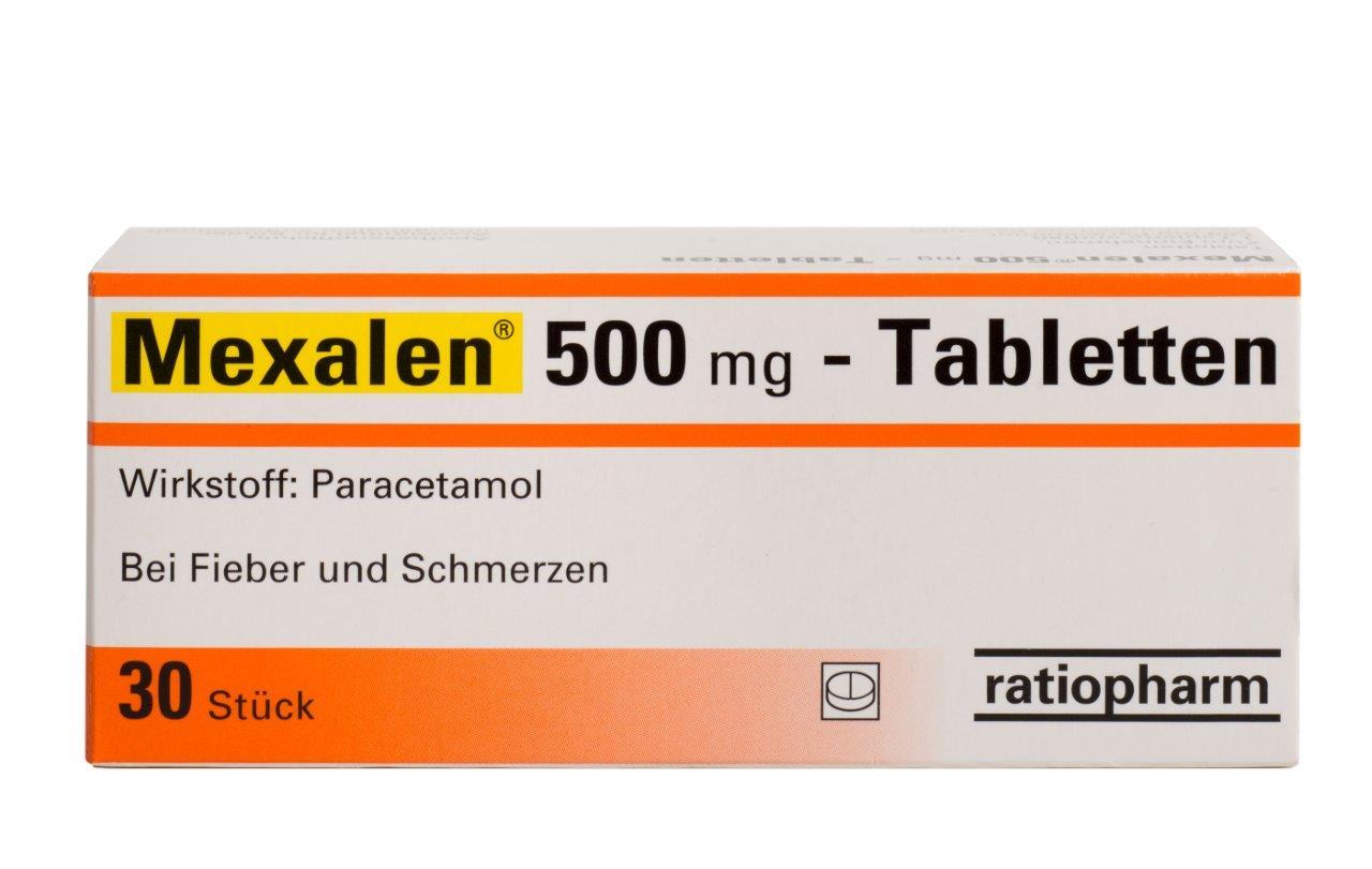 Mexalen 500 mg - Tabletten