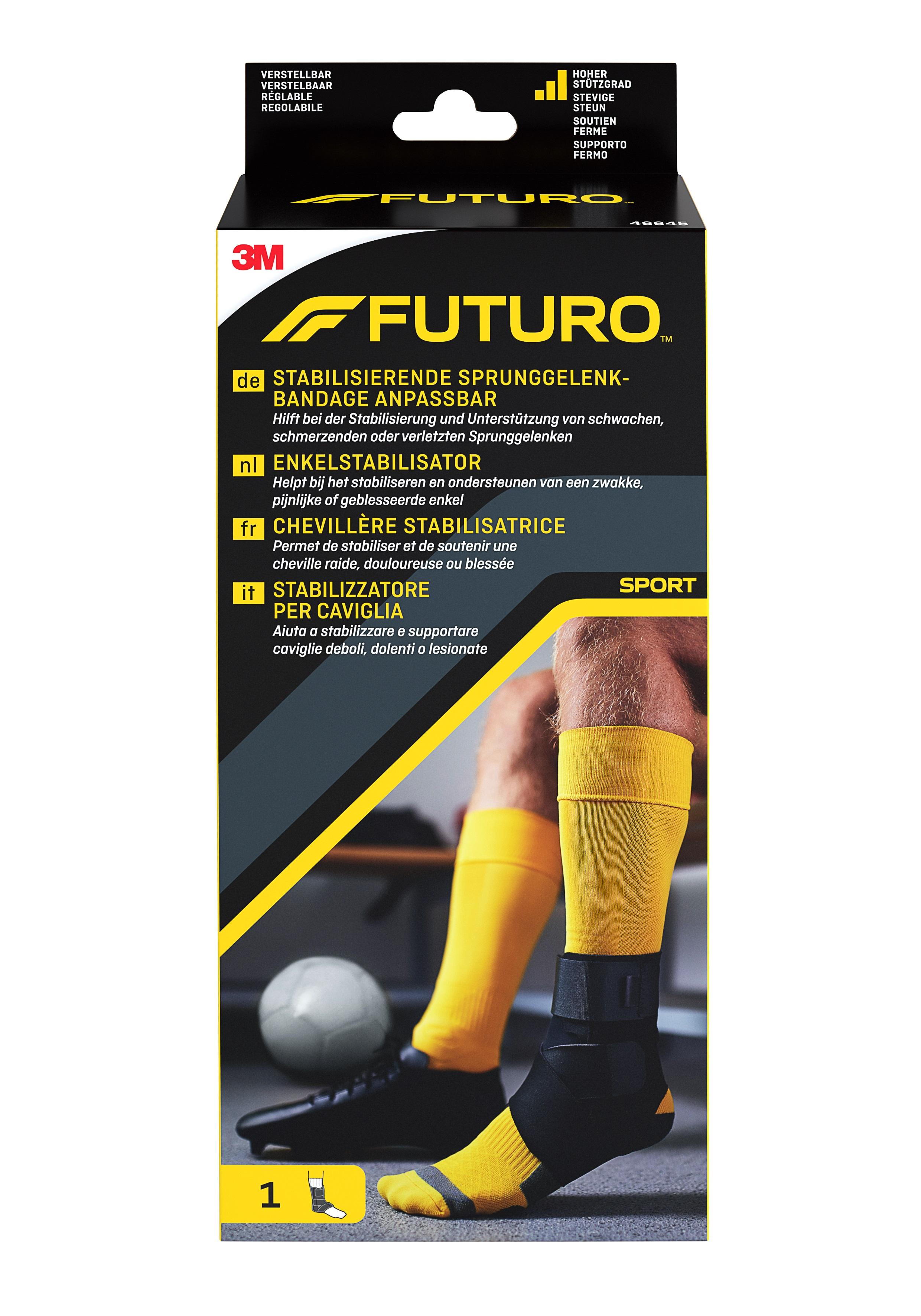 FUTURO™ Stabilisierende Sprunggelenk-Bandage anpassbar