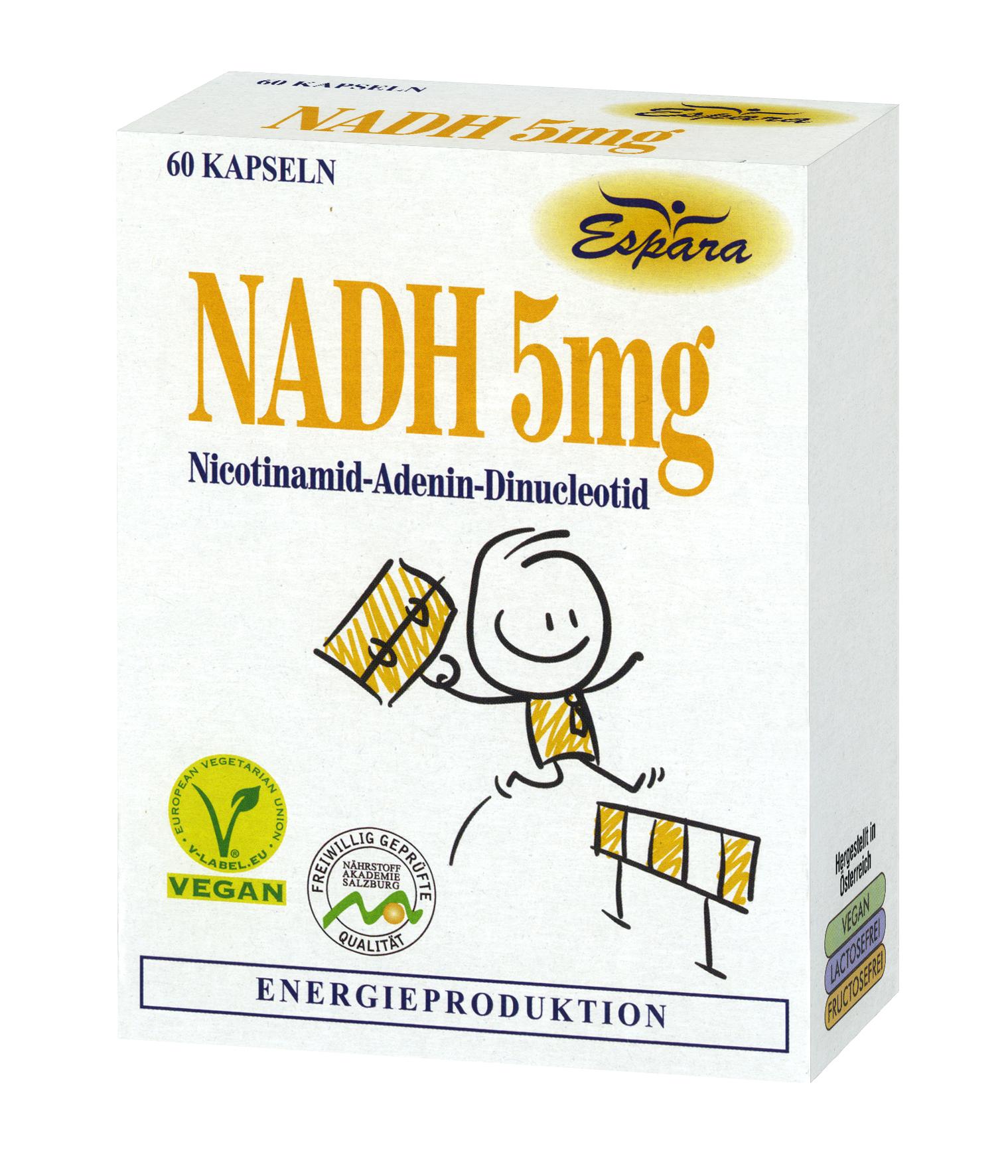 Espara NADH-5mg Kapseln