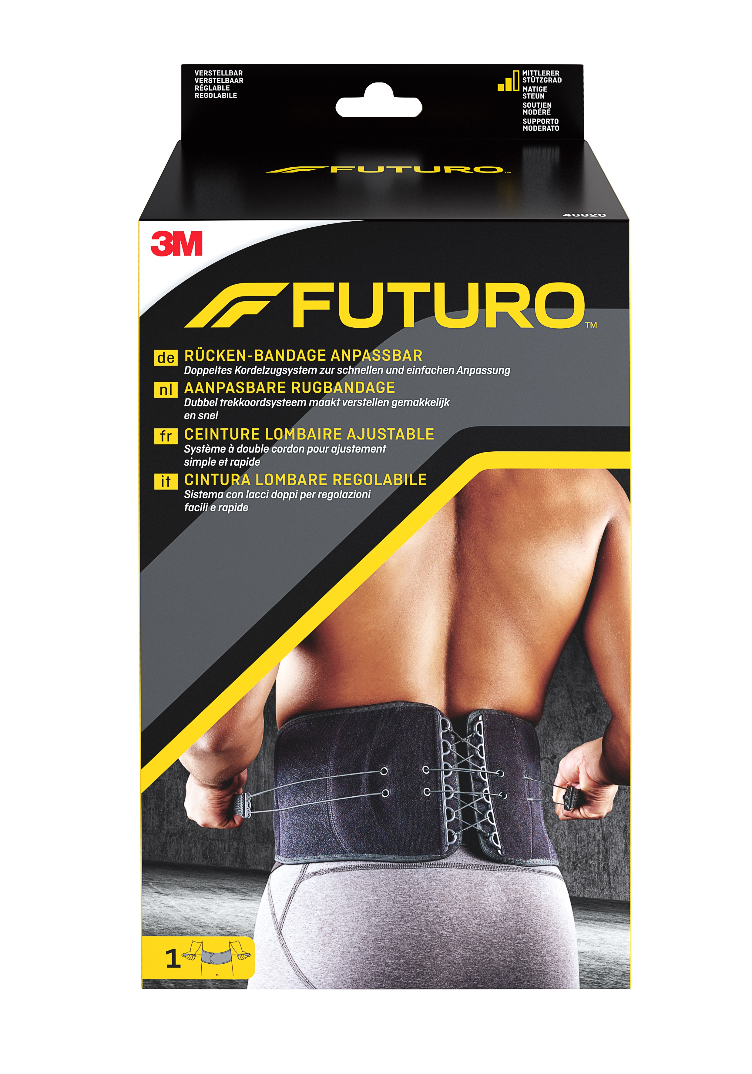 FUTURO™ Rücken-Bandage, anpassbar